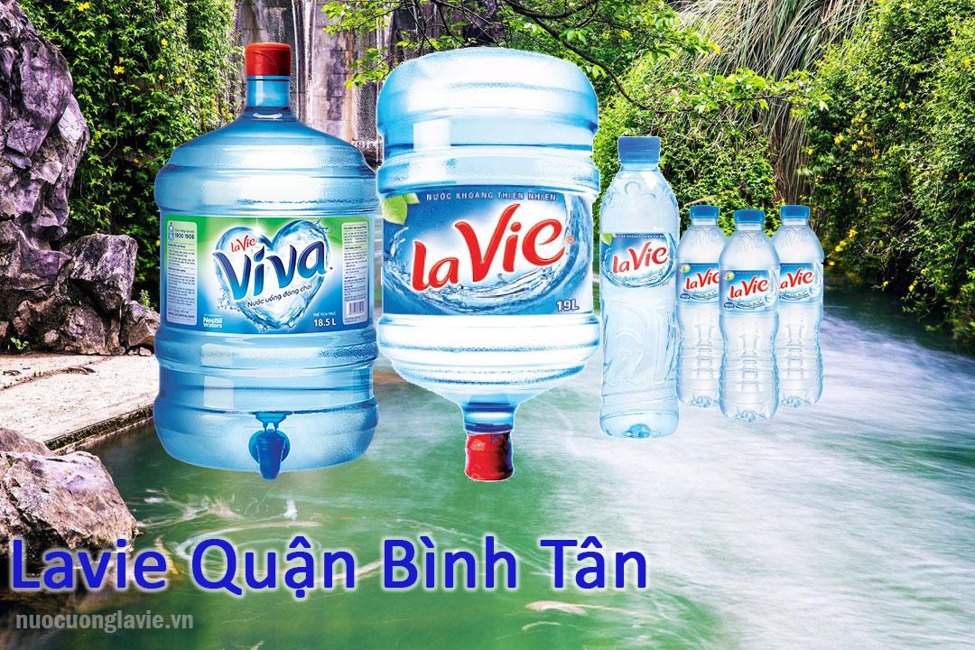 Nước Lavie quận Bình Tân