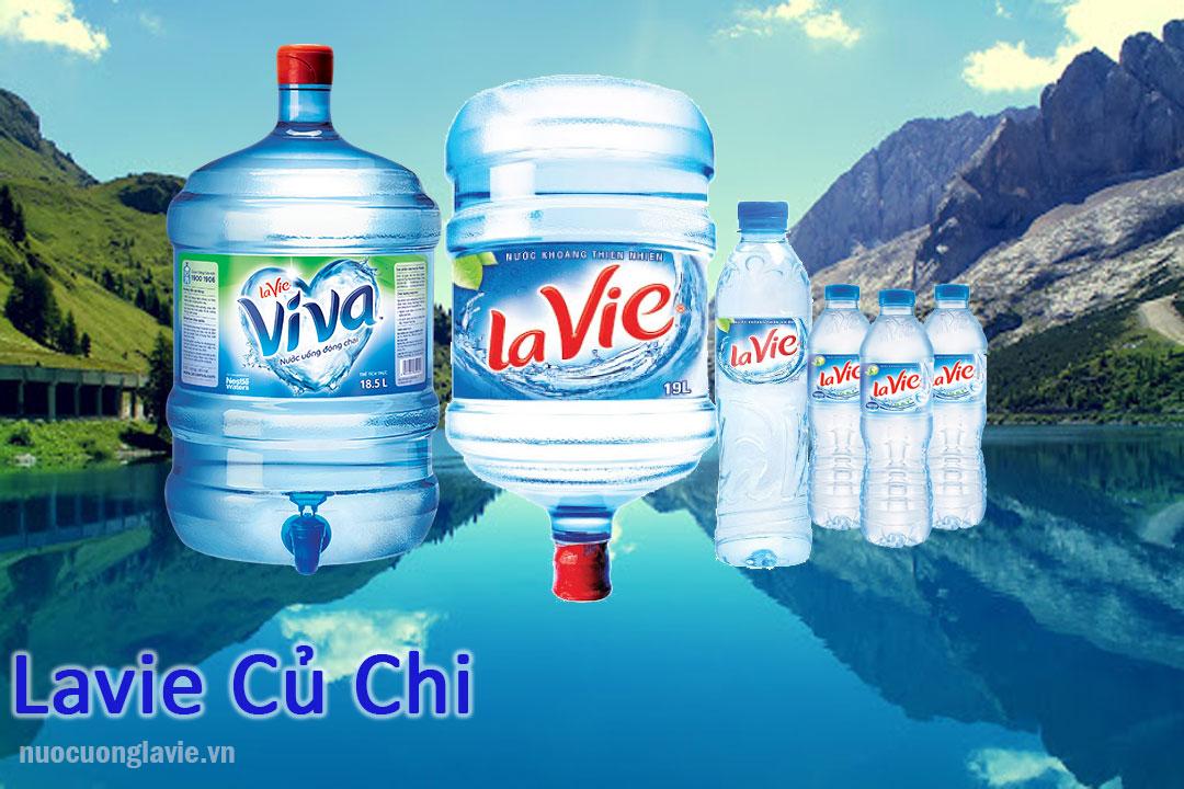 Sản phẩm nước Lavie tại Củ Chi
