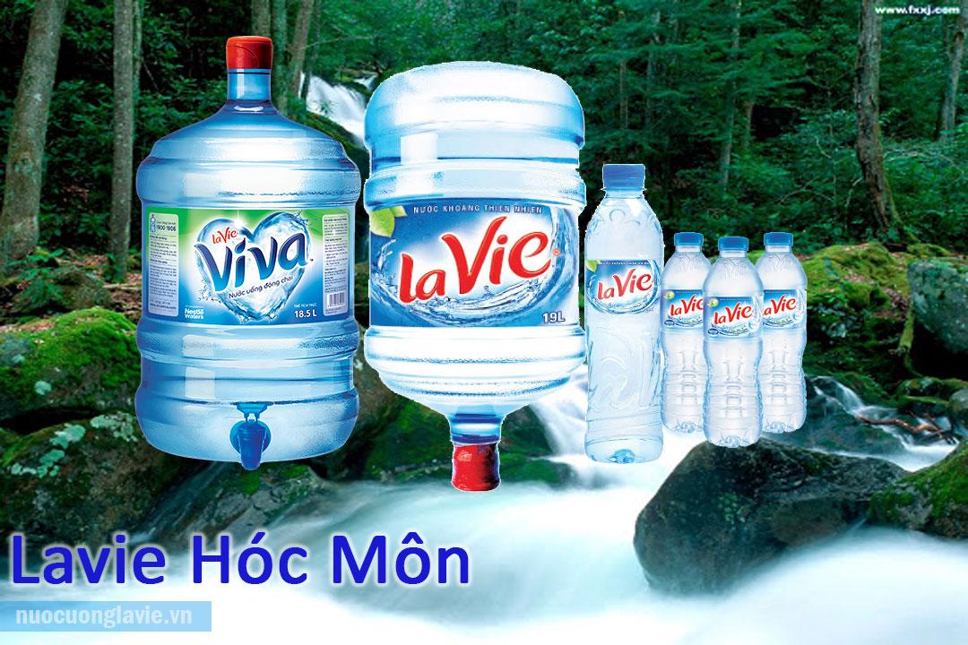 Sản phẩm nước Lavie tại Hóc Môn