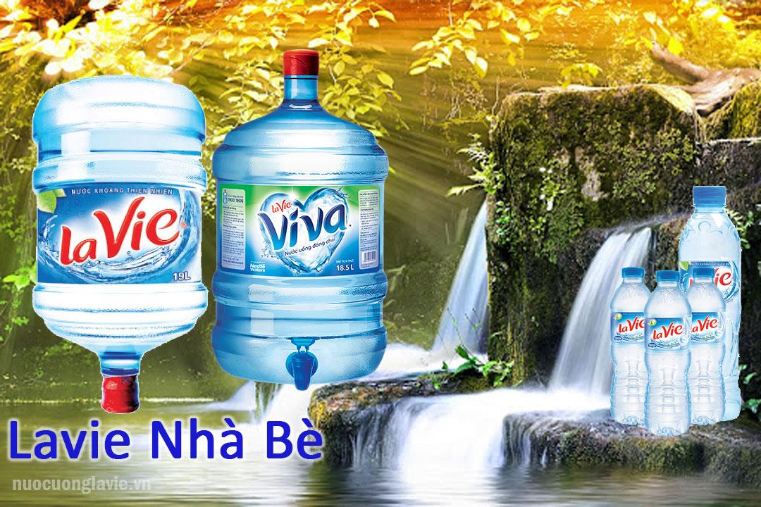 Các sản phẩm nước Lavie được phân phối tại Nhà Bè