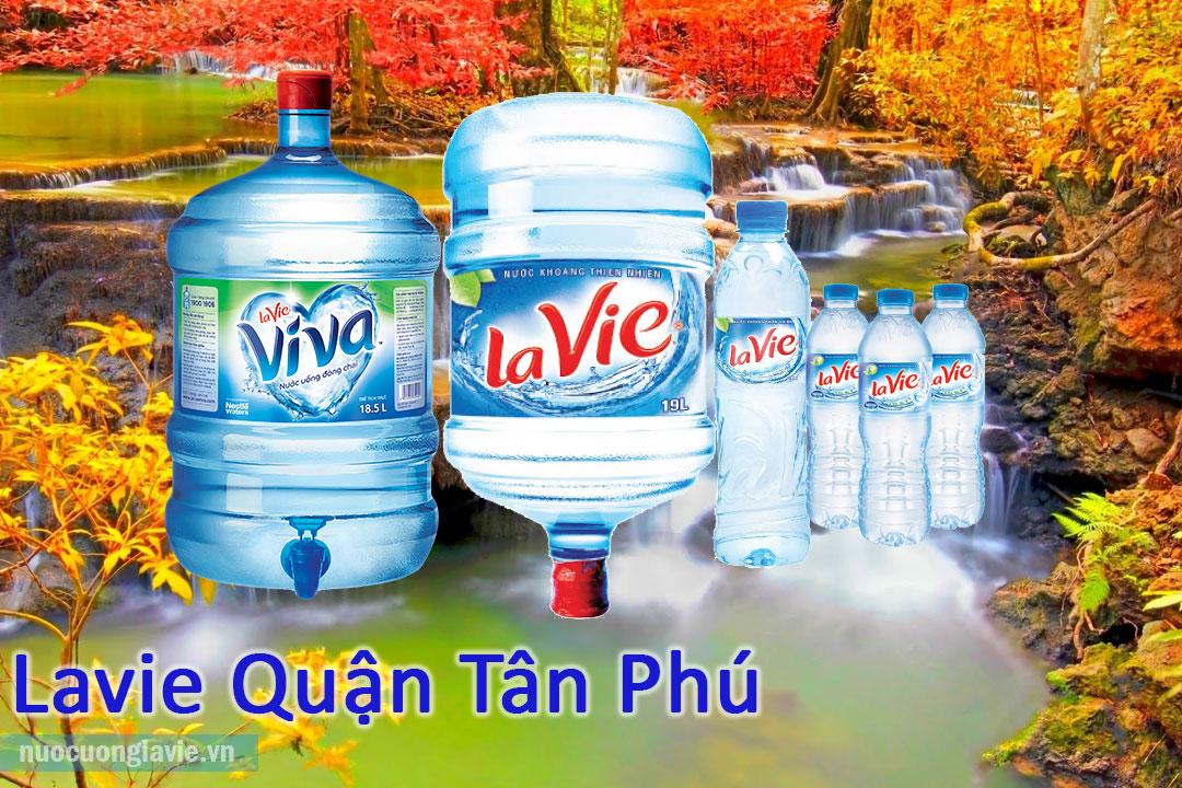 Sản phẩm nước Lavie quận Tân Phú