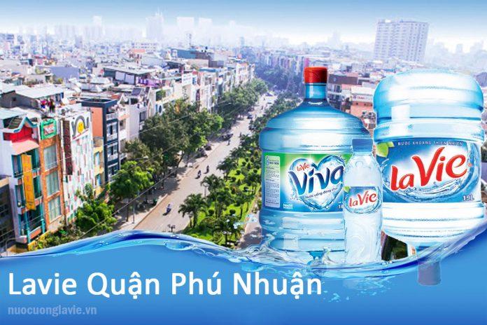 Đại lý nước Lavie tại quận Phú Nhuận