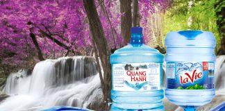 Chọn nước Lavie hay Quang Hanh