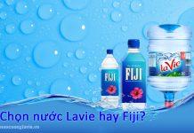 Chọn nước Lavie hay Fiji
