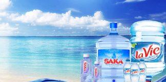 Chọn nước Lavie hay Saka