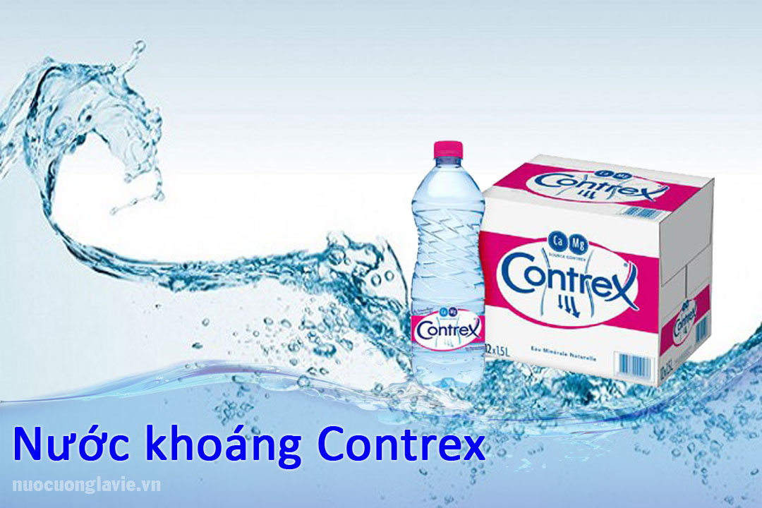 Nước khoáng Contrex