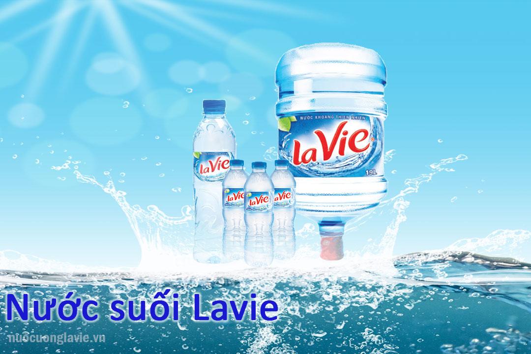 Nước suối khoáng Lavie