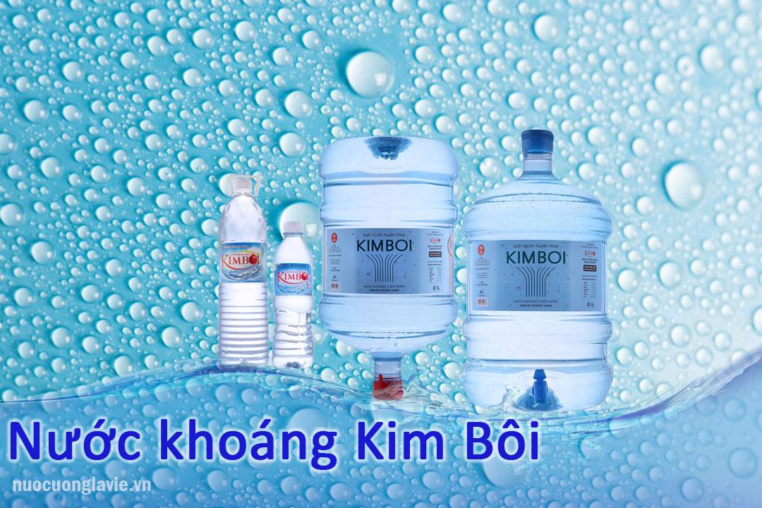 Nước khoáng Kim Bôi