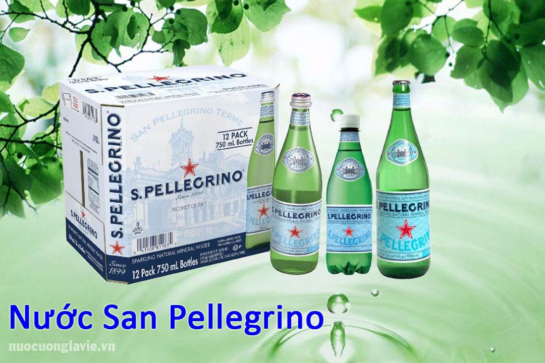 Nước khoáng thiên nhiên San Pellegrino