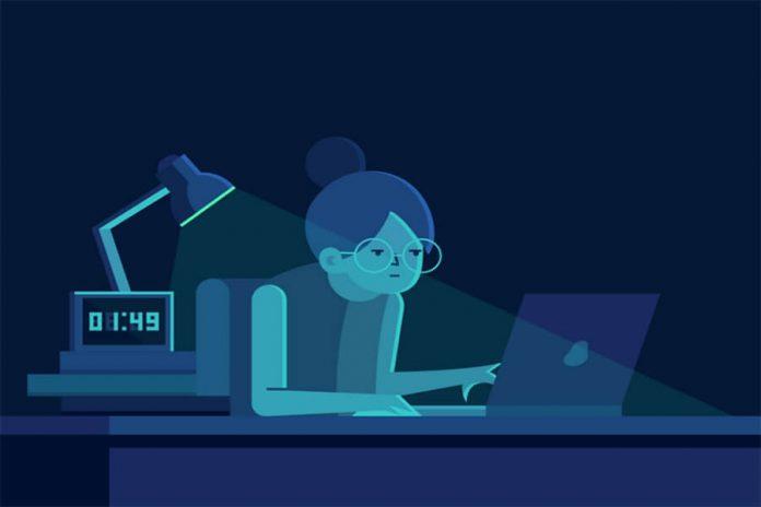 Thức khuya gây hại cho cơ thể